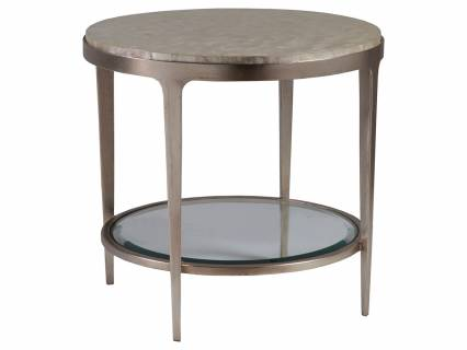 Gravitas Round End Table