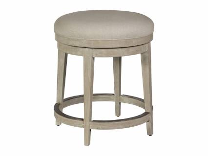 Cecile Backless Swivel Counter Stool