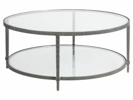 Claret Round Cocktail Table