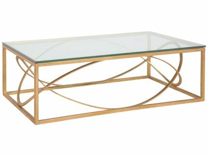 Ellipse Rectangular Cocktail Table