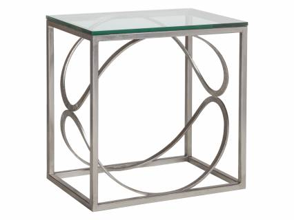 Ellipse Rectangular End Table