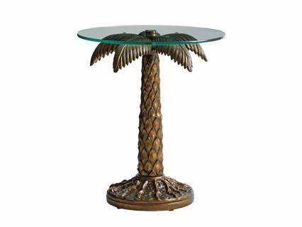 Palm Tree Table W/20 Tempered