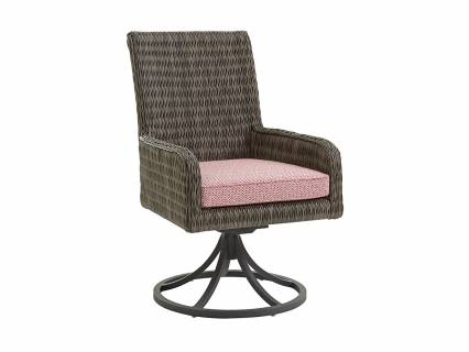 Arm Dining Chair Swivel Rocker