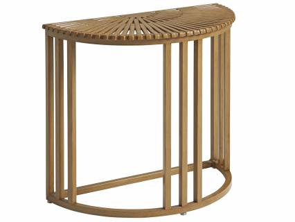 Demilune End Table