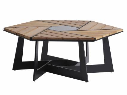 Hexagonal Cocktail Table
