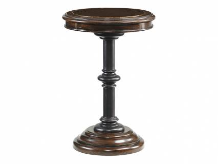 Queenstown Round Accent Table