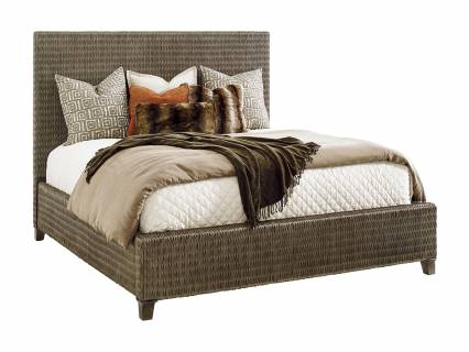 Driftwood Isle Woven Platform Bed