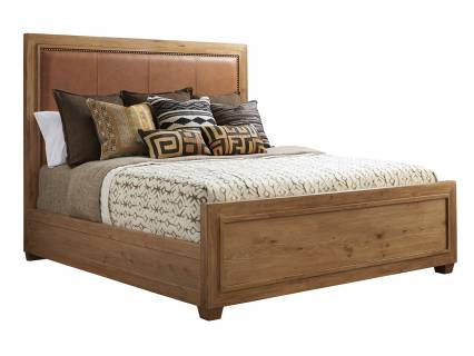 Antilles Upholstered Panel Bed