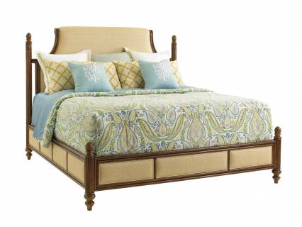 Orchid Bay Upholstered Panel Bed