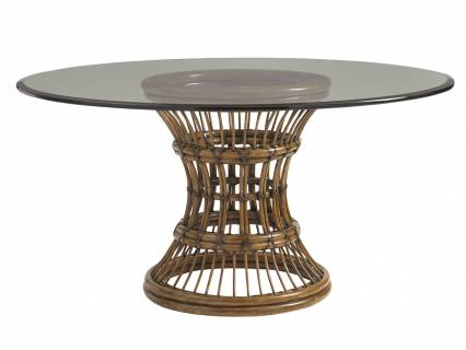 Latitude Dining Table With Glass Top