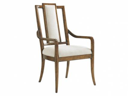 St. Barts Splat Back Arm Chair