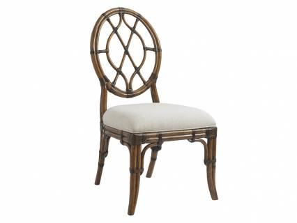 Cedar Key Oval Back Side Chair