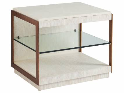 Point Lobos Rectangular End Table