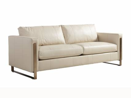 Nob Hill Leather Sofa