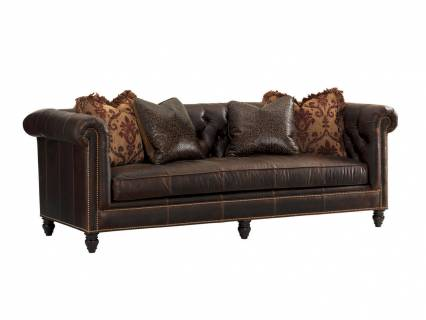 Manchester Leather Sofa